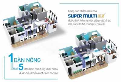 Chương trình giảm 30% giá khi lắp đặt máy lạnh multi cho biệt thự , chung cư , homestay tại đây