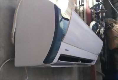 Máy lạnh cũ Toshiba 2.5HP mắt ếch Inverter+plasma ion