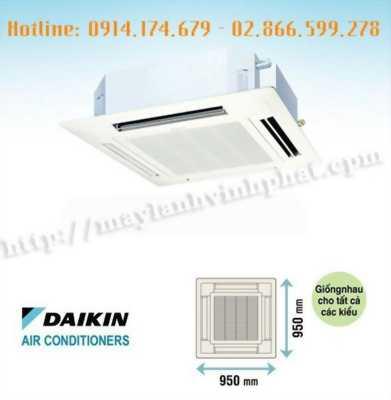 Lắp Máy lạnh âm trần thương hiệu Daikin (Thái Lan) tiết kiệm điện, đặc biệt hơn là máy chạy cực êm