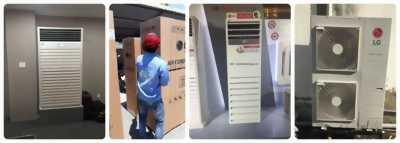 Nhận lắp đặt hệ thống máy lạnh tủ đứng cho hội trường giá tốt nhất