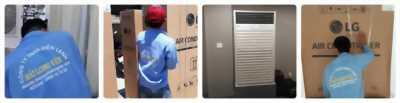 Nhà chuyên nhận thầu máy lạnh tủ đứng giá rẻ cho công trình từ 10 bộ