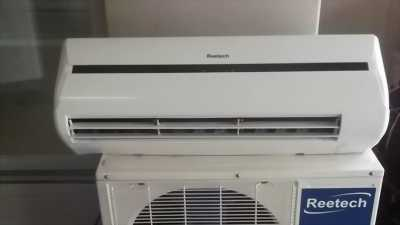 Máy lạnh reetech 1hp đang xài