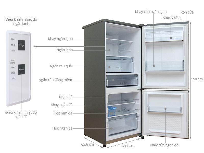 Giá tủ lạnh panasonic 175l là bao nhiêu?
