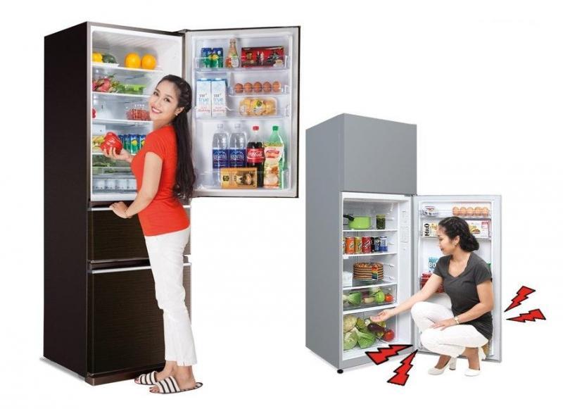 Tủ lạnh toshiba ngăn dưới không lạnh phải làm sao?