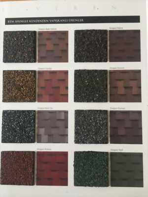 Mái ngói phủ đá chống rêu mốc hàng nhập khẩu