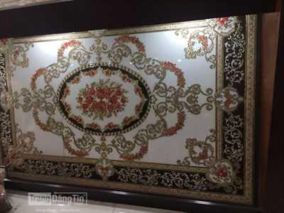thảm gạch trang trí phòng khách
