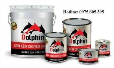 Cung cấp sơn kẽm chuyên dụng Dolphin cho sắt thép mạ kẽm