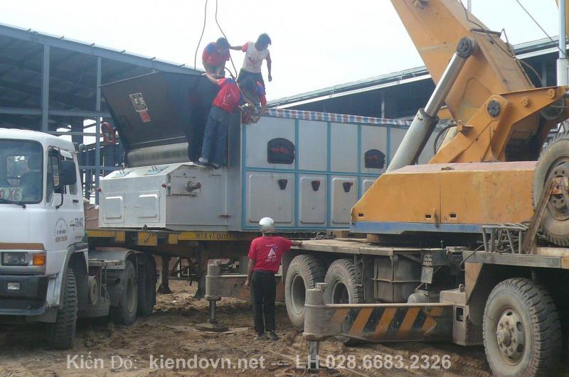 Đóng kiện gỗ chất lượng cao tại KCN HIỆP PHƯỚC