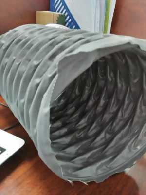 Ống gió mềm vải Fiberglass D150(mm) - Hàn quốc