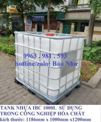 tank nhựa IBC 1000 lít giá rẻ