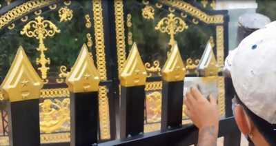 Sơn nhũ vàng chuyên dụng 1k Yespaint cho xi măng, bê tông, gỗ, sắt thép mạ kẽm