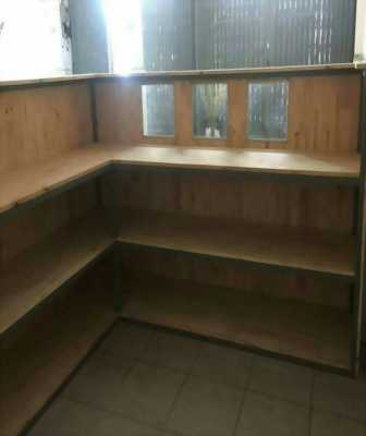 Cần bán Quầy pha chế gỗ nội thất thông minh