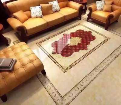 gạch thảm lát phòng khách mẫu mới