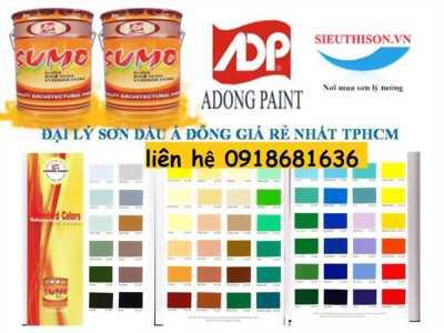 Chuyên bán sơn dầu sumo á đông cho công trình tại bình dương