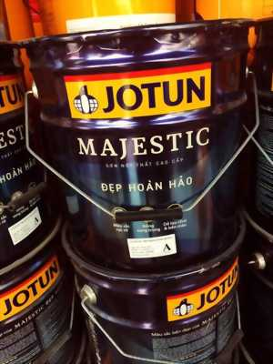 đại lý phân phối sơn jotun majestic
