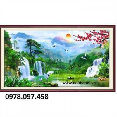 Bộ sưu tập tranh phong cảnh đẹp treo phòng khách