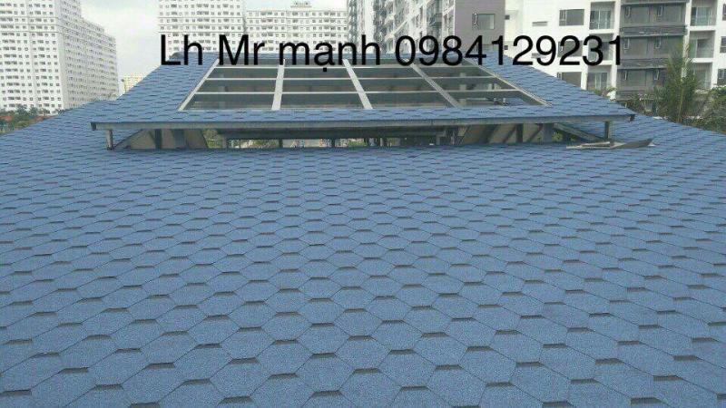 ngói phủ đá dán mái bê tông tốt nhất hiện nay với tính năng chống thấm tốt nhất