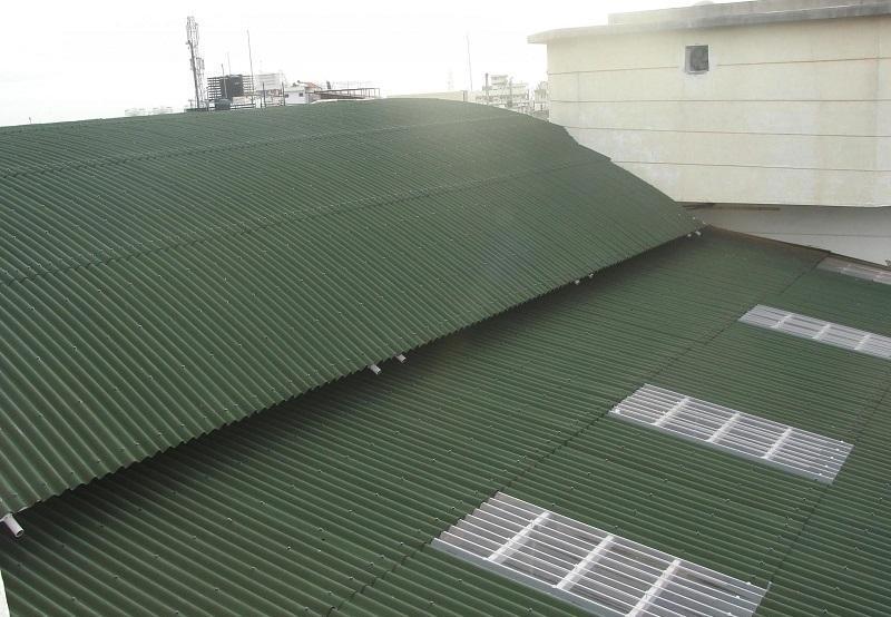 mái sinh thái sản phẩm đạt tiêu chuẩn quốc tế đứng đầu việt nam về chống nóng chống ồn
