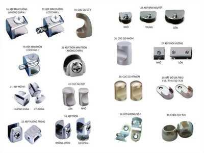 Chuyên cung cấp vật liệu phụ kiện nhôm kính tại Phú Quốc