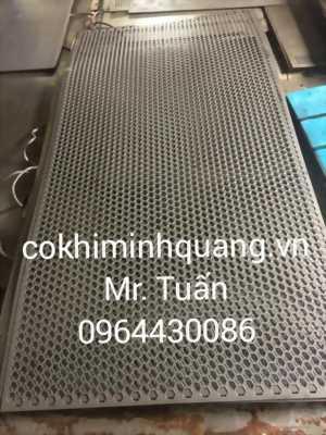 sản xuất gia công tấm thép đột lỗ giá rẻ tại Hà Nội