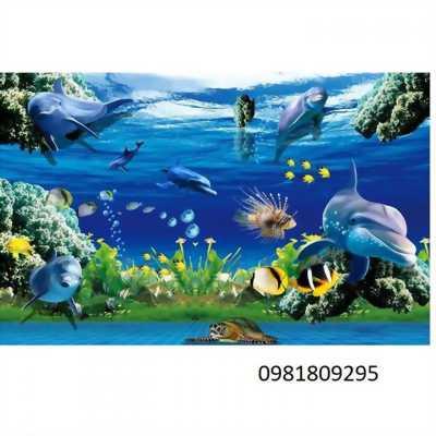 tranh gạch 3d cá biển cao cấp
