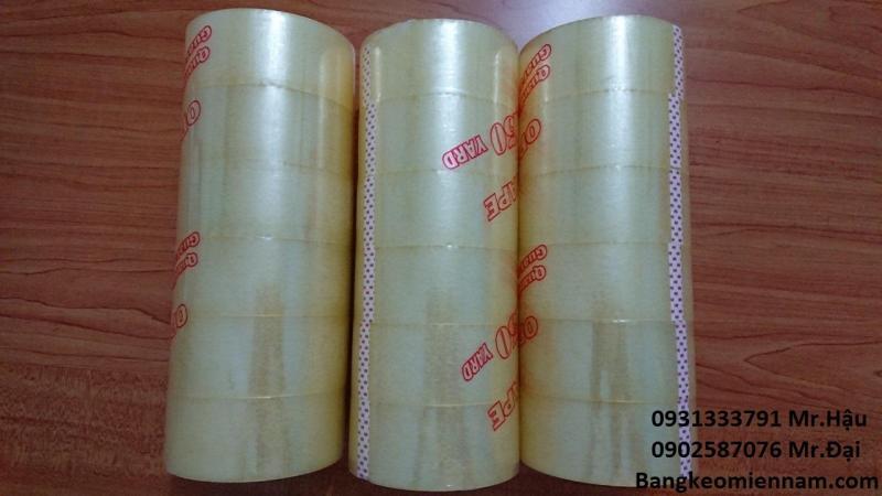 Băng keo dán thùng carton chất lượng