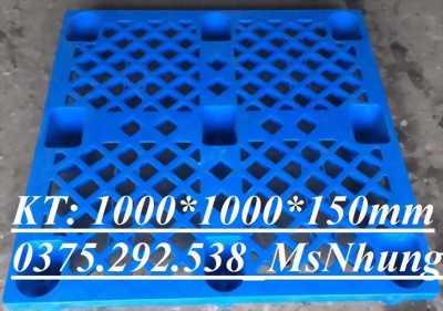 Pallet nhựa lót sàn, chân cốc giá rẻ 0375 292 538