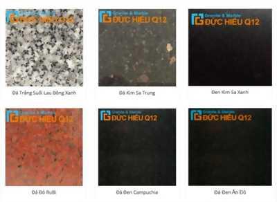Cung cấp sỉ và bán lẻ các loại đá granite - đá marble - đá nhân tạo