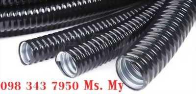 Ống kẽm ruột gà - Ống ruột gà gân - Ống sun sắt - Ống luồn dây điện - Ống kẽm bọc nhựa PVC