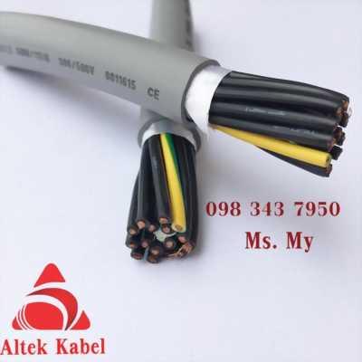 Cáp điều khiển không  lưới chống nhiễu 8 lõi 0.5 mm - Ct 8G 0.5