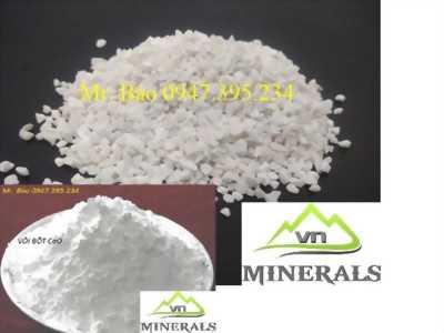 Đá hạt 4mm dùng trong sản xuất gạch terrazzo, gạch không nung