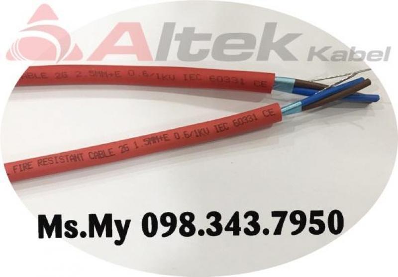 Cáp tín hiệu - Cáp điều khiển chống cháy thương hiệu Altek Kabel