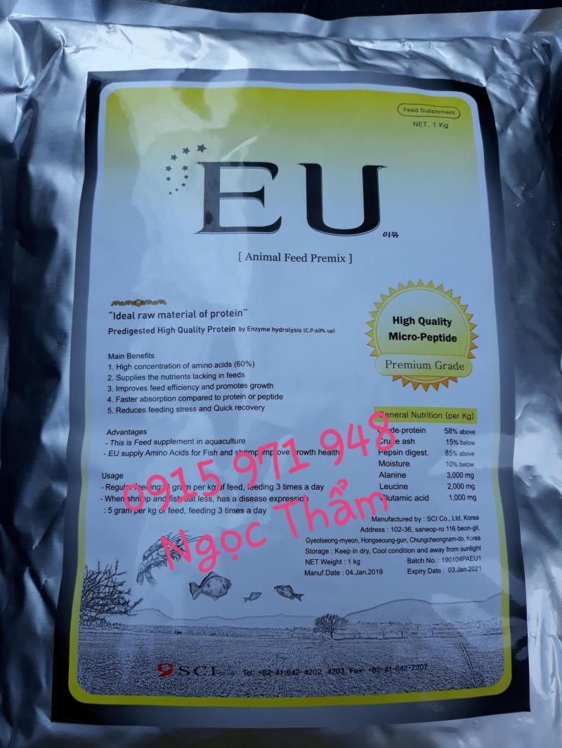 Tăng trọng EU, tăng trọng cho tôm cá