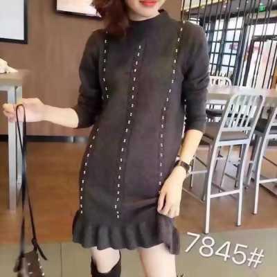 Váy len Quảng Châu mới nhất