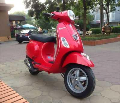 Piaggio Vespa LX 3Vie màu đỏ huyện phú giáo