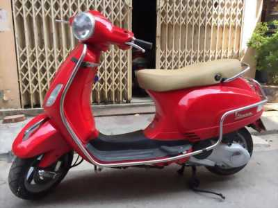 Vespa LX 125 3Vie màu đỏ sần đời mới 2017 huyện phú giáo