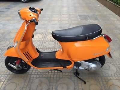 Vespa Lx 125ie Việt màu cam huyện phú giáo