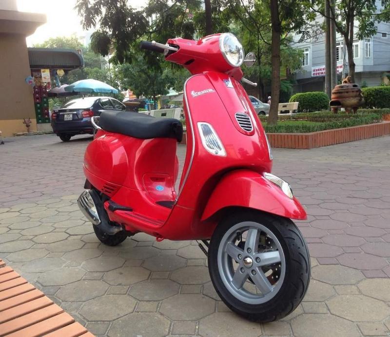 Piaggio Vespa 3ie LX125 huyện tiên lãng