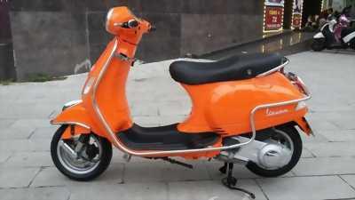 Piaggio Vespa LX 125ie màu cam 2012 chính chủ huyện tiên lãng