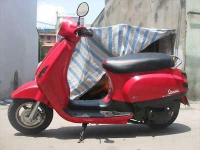 Mình cần bán xe LX Vespa 125 HQLD Piagio đỏ, 2012