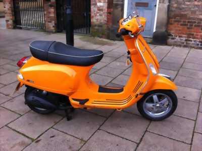 Vespa Lx150 Nhập khẩu Ý màu cam biển HN