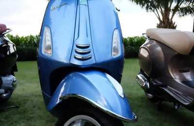 Piaggio Vespa LX xanh đẹp chính chủ 2012