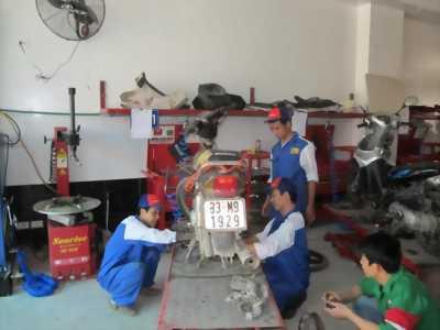 Cần tuyển thợ sữa xe máy