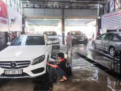 Tuyển nhân viên rửa xe