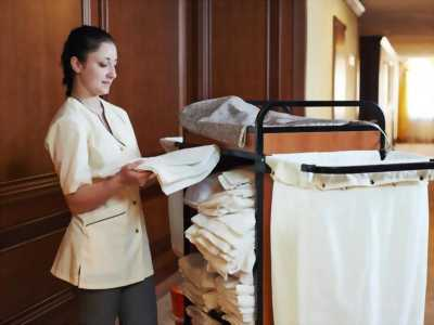 Nhân viên dọn phòng khách sạn 5tr + thưởng