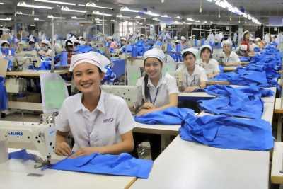 Tuyển 5 đến 10 công nhân may công nghiệp