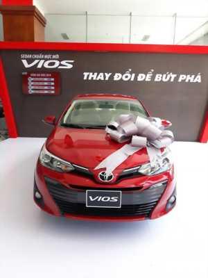 Xe VIOS mới 2018 có tại Toyota Ninh Kiều