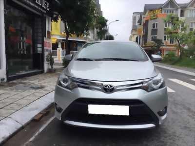 Bán Toyota Vios G 2017 tự động màu Bạc