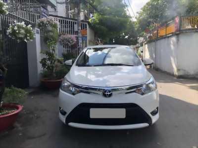 Bán Toyota Vios 2018 số tự động màu trắng biển tp Xe nhà sài kĩ