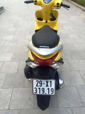 Bán xe Honda Vision FI màu vàng mới